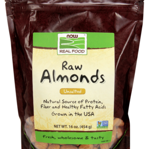 Almonds Raw 16 oz