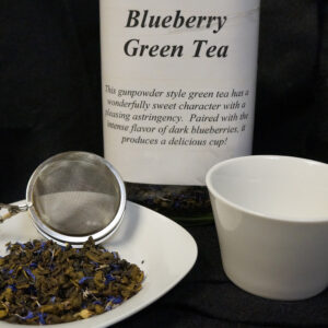 lifethyme botanicals blueberry green tea