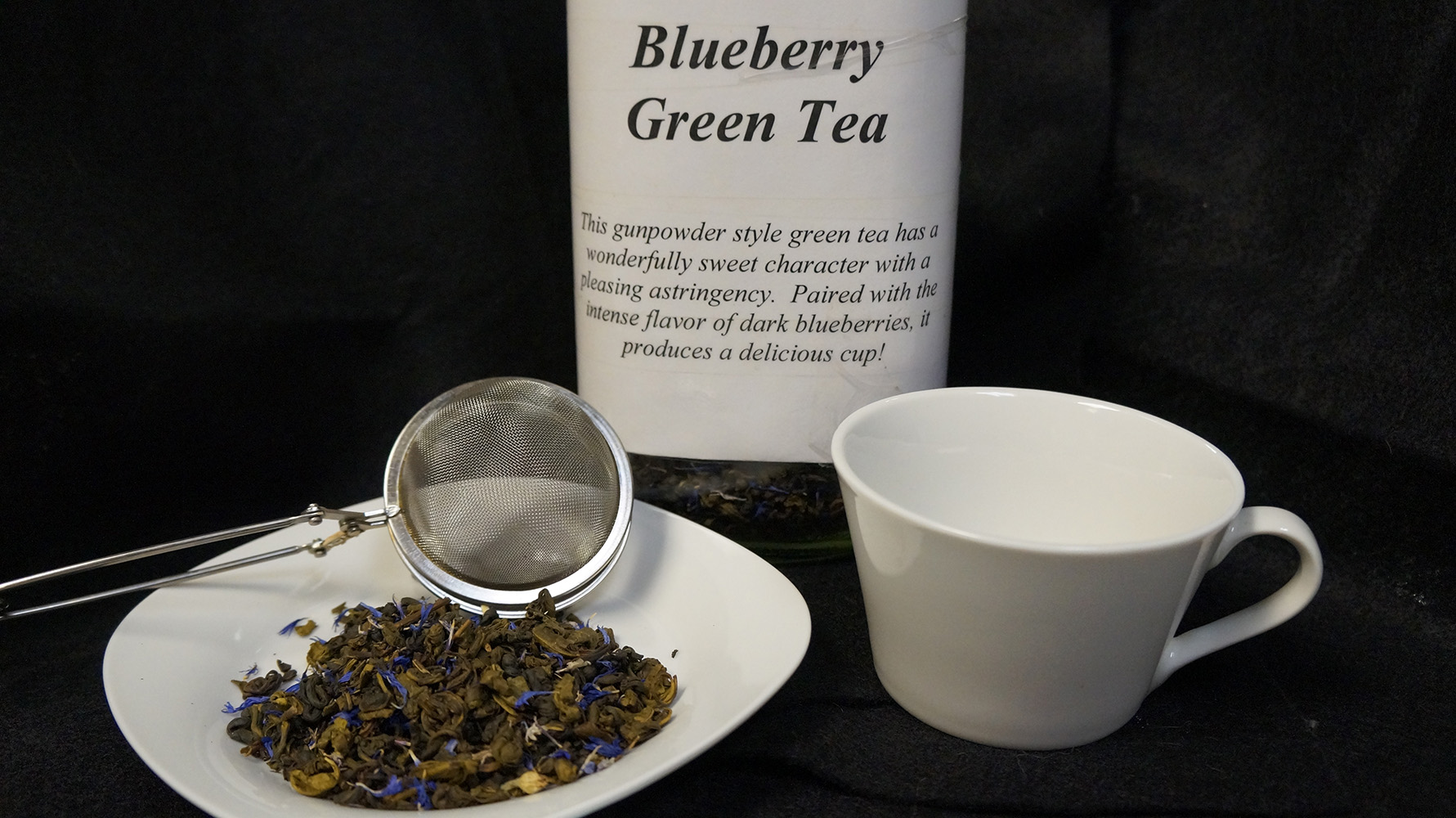 lifethyme botanicals blueberry green tea