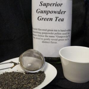 lifethyme botanicals superior gunpowder tea