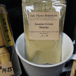 lifethyme botanicals jasmine green matcha