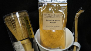 lifethyme botanicals Orange rooibos matcha