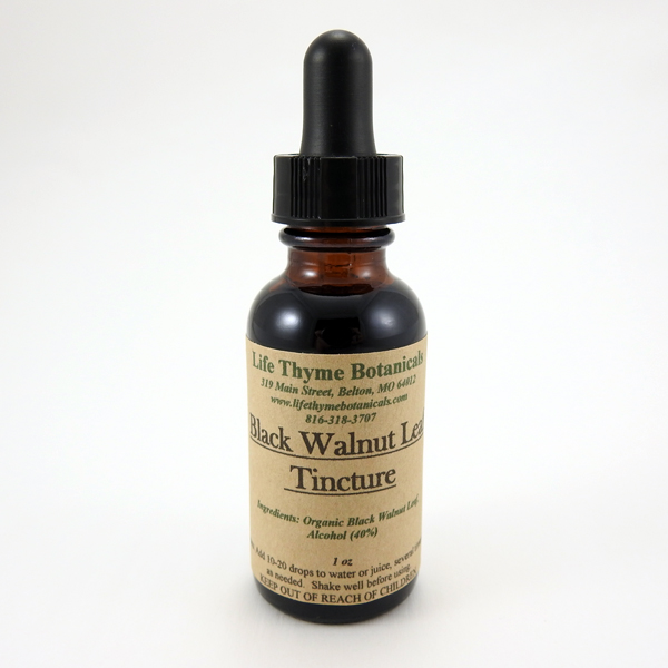 Black Walnut Leaf Tincture
